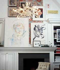 Superordinate Antler Chandelier - 12 Antlers  Private Residence, Greenwich Village, NY