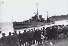 HMS Neptune in 1937. September 5, 1939 HMS Neptune stops, evacuates and sinks the German freighter Inn off the Canary Islands.
