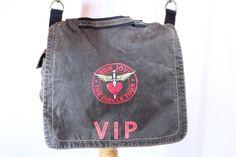 BON JOVI The Circle Tour VIP Brown Messenger Bag Cross Body Shoulder Bag Tote