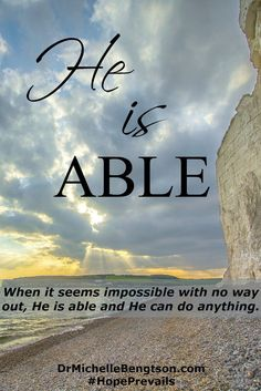 He is able to give inasmuch more than this. 2 Chronicles ~ When the valley we walk in threatens to engulf us and the wait for God to move feels unbearable, He is able. Regardless of our need and despite our difficult circumstances, He remains faithful. Christian Encouragement, Words Of Encouragement, Faith Quotes, Bible Quotes, Qoutes, Christian Faith, Christian Quotes, He Is Able, Praise God