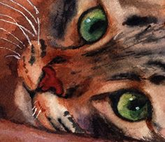 """cat paintings by rachel parker 