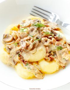 Polish Recipes, Dumplings, Risotto, Potato Salad, Side Dishes, Food And Drink, Cooking Recipes, Chicken, Dinner