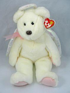 51dd758b165 Ty Beanie Buddies HALO Angel Bear 15