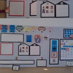 Panel, Ps, Gallery Wall, Club, Crafts, Autism Classroom, New Class, Primary Education, Pictogram