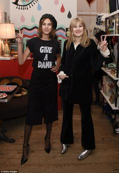 Alexa Chung hosts The Deep End Club Collection launch in New York | February 14, 2016