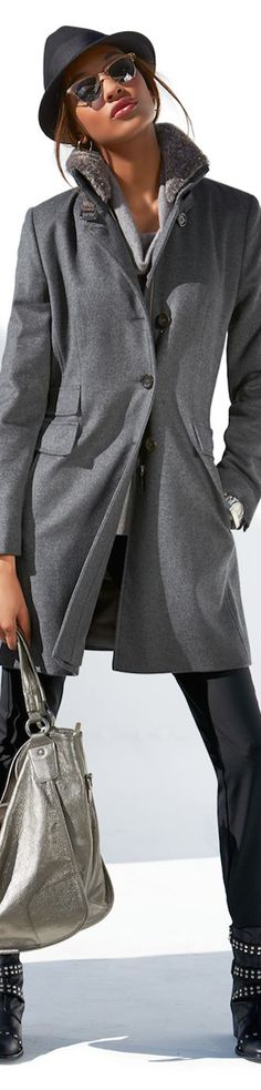 New Fall 2014 Arrivals from Madeleine Grey Fashion, Look Fashion, Womens Fashion, Fashion Trends, Casual Chic, Madeleine Fashion, New Yorker Mode, Cold Weather Fashion, Winter Stil