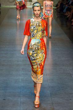 Défilé Dolce & Gabbana printemps-été 2013