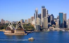 I will take a tour of Sydney, Australia.