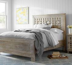 Luella Bed #potterybarn