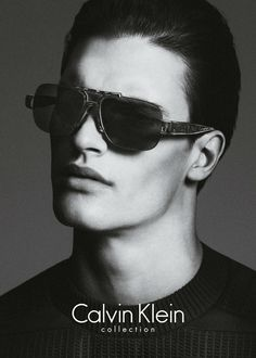 Matthew Terry for Calvin Klein Fall/Winter 2013/2014 Campaign | The Fashionography