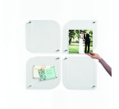 Use Wexel Art petal frames to hang special memories in home art galleries. Easy to install, easy to change!