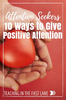 Do you have a student that takes all of your attention away from others? Try these 10 easy ways to shower them with positive attention, without increasing your workload. #2 was a life saver for me last year!