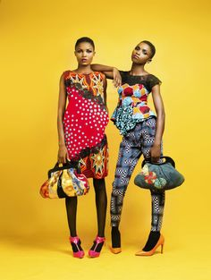 Nigeria's DFL (Design For Love) Unleashes The Colors Of Africa Look Book | FashionGHANA.com: 100% African Fashion