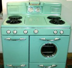 Achieve the ultimate in retro glory with an antique stove…