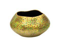 Zsolnay Váza, pettezett mintával, Zsolnay, 1902 Tile Art, Porcelain Ceramics, Pottery Art, Opi, Decorative Bowls, Glass Art, Artwork, Hungary, Vases