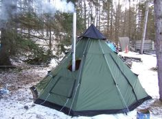 Teepee Tents For Camping Polyester 6 Person Outdoor Hunting Shelter Ventilation  #GuideGear #Teepee