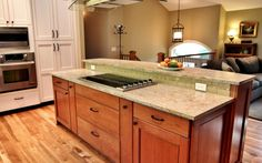 Open Northwest Kitchen and Family Room | Designer's Edge Kitchen & Bath Design