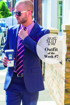 Looking sharp and mixing it up it up with this Outfit of the Week…