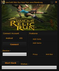 New Lara Croft Relic Run hack is finally here and its working on both iOS and Android platforms. This generator is free and its really easy to use! New Lara Croft, Ipad, Game Resources, Game Update, Website Features, Test Card, Free Gems, Hack Online