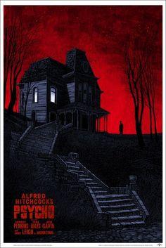 Psycho poster by Daniel Danger