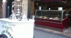 Ice Cream in Madrid .Helado en Madrid