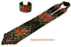 "Совместник "" Винтажная роза"" для .. Loom Bracelets, Loom Beading, Stitch Patterns, Personalized Items, Beads, Creative Ideas, Jewelry, Roses, Design"