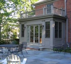 Front porches entryways on pinterest enclosed porches screened por