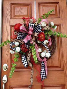 My Valentines wreath,,,