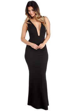 Carmela Black Take A Risque Dress   WindsorCloud