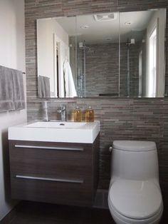 Bathroom Reno in the Kingsway - contemporary - bathroom - toronto - Chic Decor & Design, Margarida Oliveira