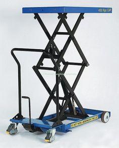 SC-450-D-M Mobile Scissor Table. For a quotation please contact; Manual Handling Solutions 58, Paige Close, Watlington,  King's Lynn, Norfolk PE33 0TQ Tel 01553 811977 sales@manualhandlingsolutions.co.uk http://www.manualhandlingsolutions.co.uk