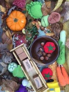 Harvest Sensory Tub | Healthy Mama Info
