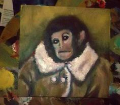 Ikeas Homonkulus painting, already sold
