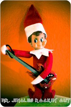 Mr. Jingles our Elf on the Shelf