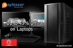 Clearance Sale-Get up to 43% discount on entire range of laptops clearance at #Novatech #Offer #paylesser  Why pay more?