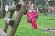WAYUU BAG – Small-Sized Mochila. Handwoven by a woman from the Wayuu Tribe. OUT OF STOCK. www.colombiart.co