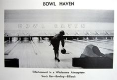 https://flic.kr/p/4TBdoJ | IL-Alton-Bowl Haven '65 | <b>Bowl Haven</b> Alton, IL  This Kennedy-era bowling alley is still in business, but it's been remodeled plenty.  The above ad is from the 1965 Alton High School <i>Tatler</i> yearbook.