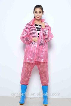 Pvc/polyester Rainsuit http://www.alibaba.com/product-detail/Printed-pvc-polyester-rainsuit-for-worker_60116496983/showimage.html