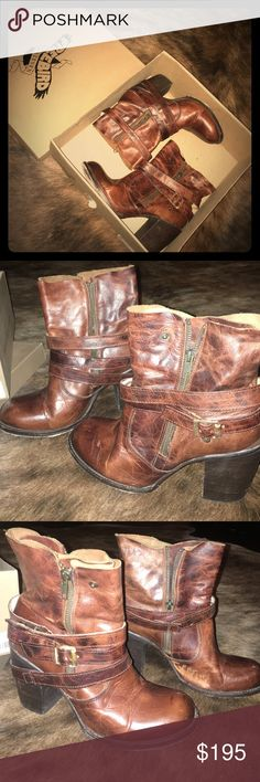 FB-BAMA COGNAC BOOTS- FREEBIRD BY STEVEN.. SIZE 9 Received these boots as a birthday gift but they were too big wore them 3 times. Very good condition. They were $295.00 at buckle. Freebird by Steven Shoes Ankle Boots & Booties