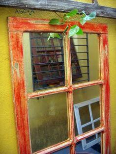 Janelas de demolição – pátina envelhecida | Alem da Rua Atelier