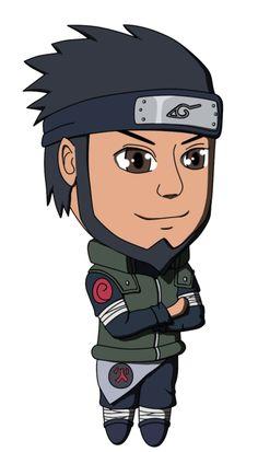 Naruto - Asuma - Chibi by lilomat on DeviantArt Naruto Girls, Journalling, Laptop Backpack, Naruto Shippuden, Tik Tok, Chibi, Deviantart, Dolls, Artist