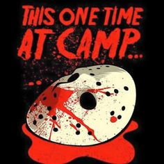 Buy Friday the t-shirts including the Jason Voorhees t-shirt and the Camp Crystal Lake Friday the t-shirt. Browse other merchandise, like Friday the costumes with Jason Voorhees hockey masks and machetes. Jason Voorhees, Horror Icons, Horror Films, Dark Beauty, Funny Horror, Scary Funny, Slasher Movies, Halloween Horror, Halloween Film