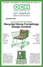 Recycled Home Furnishings Design Contest