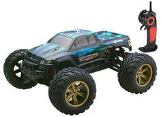 Bo Toys Scale Electric RC Car Offroad High Speed 35 MPH Remote Controlled Truck Car -- Read more at the image link. Rc Car Remote, Remote Control Boat, All Terrain Tyres, Rear Wheel Drive, Drone Quadcopter, Rubber Tires, Super Sport, Rc Cars, High Speed