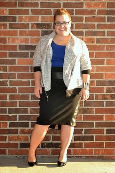 curvy and petite style, fashion, sporty chic, fall 2014 fashion trends, style, cobalt blue, petite style, petite plus, curvy fashion, #honoryourcurves #stylehasnosize http://stylecassentials.blogspot.com/2014/09/fall-double-feature-sporty-chic.html