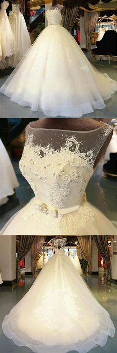 Wedding Dresses: New Lace White/Ivory Wedding Dress Bridal Gown Custom Size 6 8 10 12 14 16 18+++ BUY IT NOW ONLY: $219.0