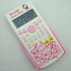 1c4e227de Find More Calculators Information about Hello Kitty KT 82MS PLUS Cute  Cartoon Scientific Calculator School Student