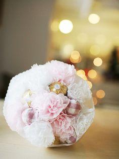 [바보사랑] 직접 만들어 선물하는 사탕부케 /사탕/부케/꽃다발/초콜렛/발렌타인데이/화이트데이/DIY/핸드메이드/선물/Candy/Bouquets/Chocolates/Valentine's Day/White Day/Handmade/Gift