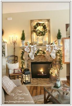 3rd Annual Christmas Mantel Party