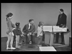 Mr. Rogers Introduces a Group of Children to Electronic Music Pioneer Bruce Haak in 1968
